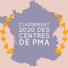 Classement 2020 centres PMA