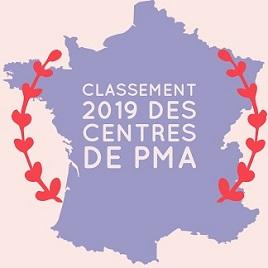 Classement 2018 centres PMA